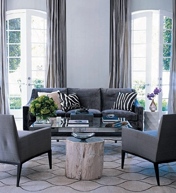 Charcoal Gray Sofa Design Ideas perfectly for Grey Sofa Chairs (Image 11 of 20)