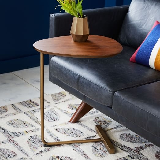 Charley C Side Table West Elm definitely with C Coffee Tables (Image 11 of 20)