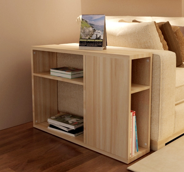 Cheap Korean Simple And Stylish Sofa Side Table A Few Side Cabinet nicely with Sofa Side Tables With Storages (Image 12 of 20)