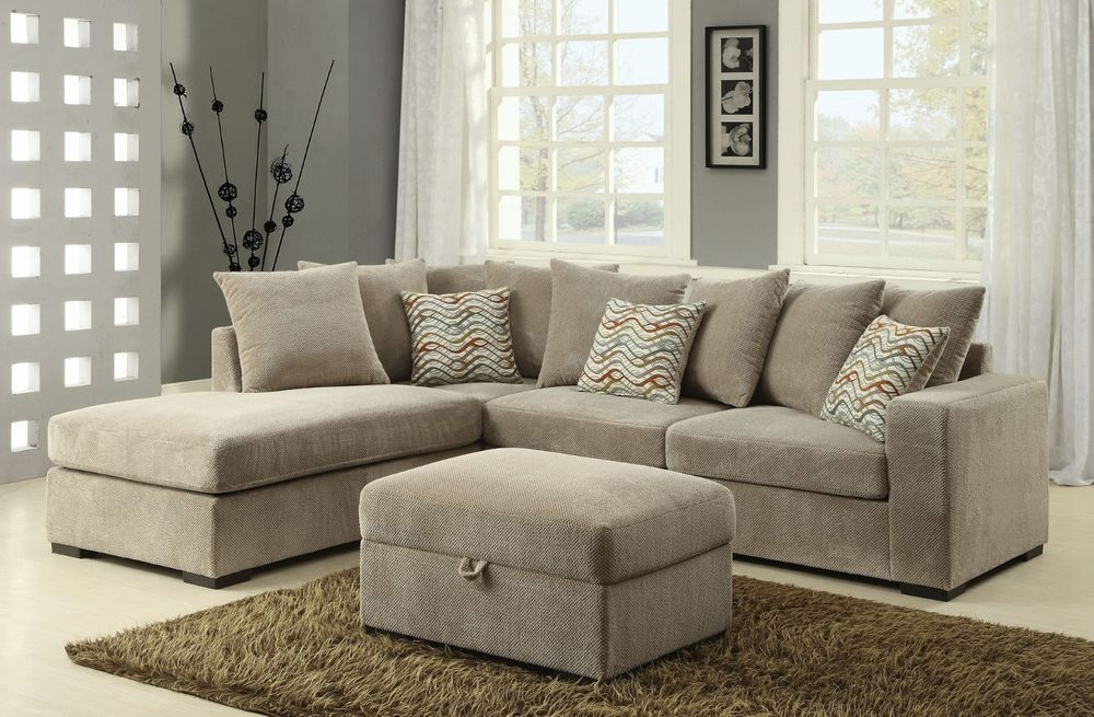 Chenille Sectional Sofas Loveseats Chaises Ebay Good In Chenille Sectional Sofas (View 6 of 20)