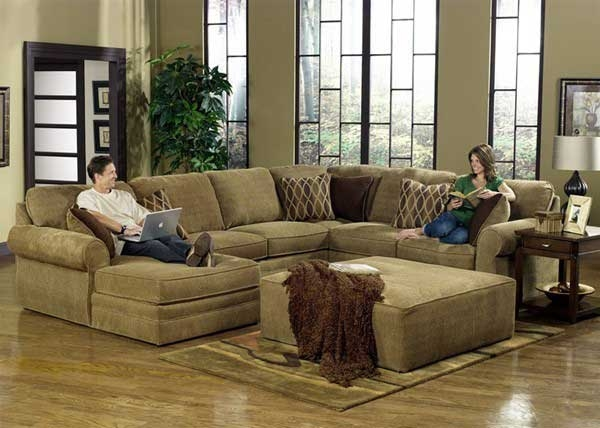 Chenille Sofa The Right Choice For Stylish Living Room Oakwood clearly regarding Chenille Sectional Sofas (Image 7 of 20)