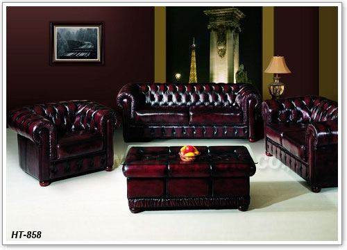 Chesterfield Sofa Set China Huateng Furniture Factory Produce effectively within Chesterfield Sofa and Chairs (Image 9 of 20)