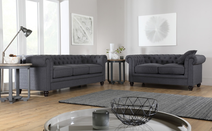 Chesterfield Sofas Buy Chesterfield Suites Online Furniture Choice definitely pertaining to Chesterfield Sofa And Chairs (Image 12 of 20)
