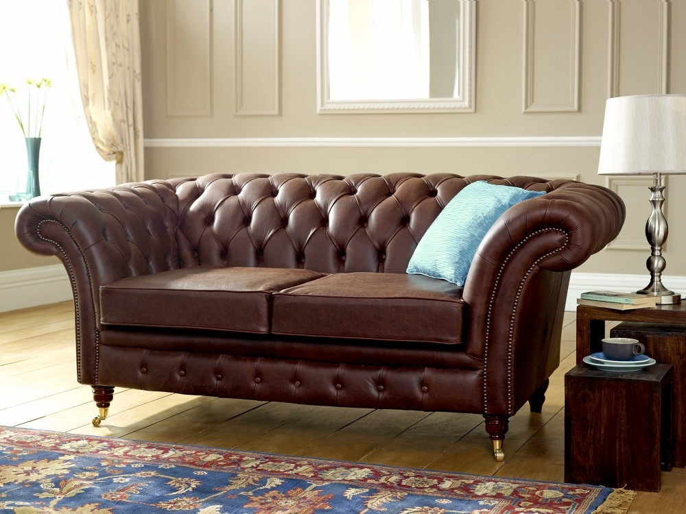 Chesterfield Sofas In Manchester The Chesterfield Company good inside Small Chesterfield Sofas (Image 12 of 20)