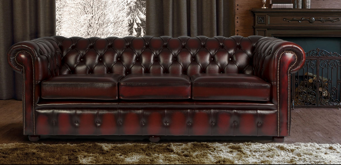 Chesterfield Sofas Leather Sofas Chesterfield Sofa Company perfectly inside Chesterfield Furniture (Image 11 of 20)