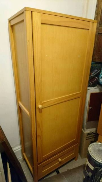 Childrens Ba Wardrobe With Double Clothing Rail In Edinburgh clearly for Childrens Double Rail Wardrobes (Image 16 of 20)