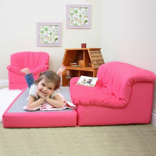 Childrens Foam Flip Out Sofa Bed Revistapacheco Properly In Toddlers Image