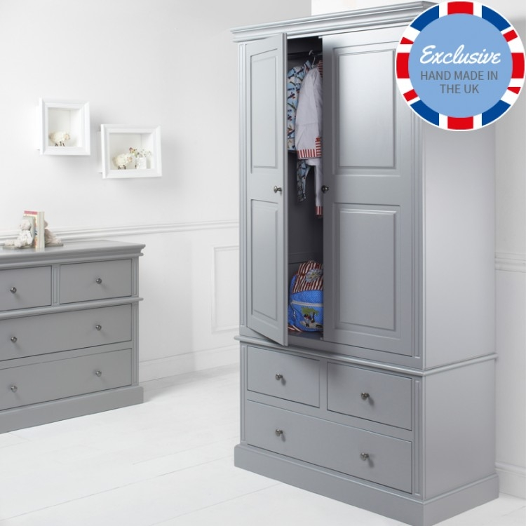 Childrens Wardrobes Childrens Furniture Little Lucy Willow Uk most certainly for Childrens Wardrobes With Drawers And Shelves (Image 14 of 30)