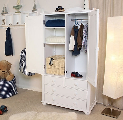 Childrens Wardrobes Junior Rooms certainly in Wardrobe With Shelves and Drawers (Image 8 of 30)