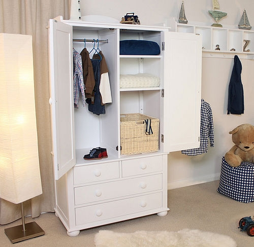 Childrens Wardrobes Junior Rooms nicely for Wardrobes With Shelves And Drawers (Image 4 of 20)