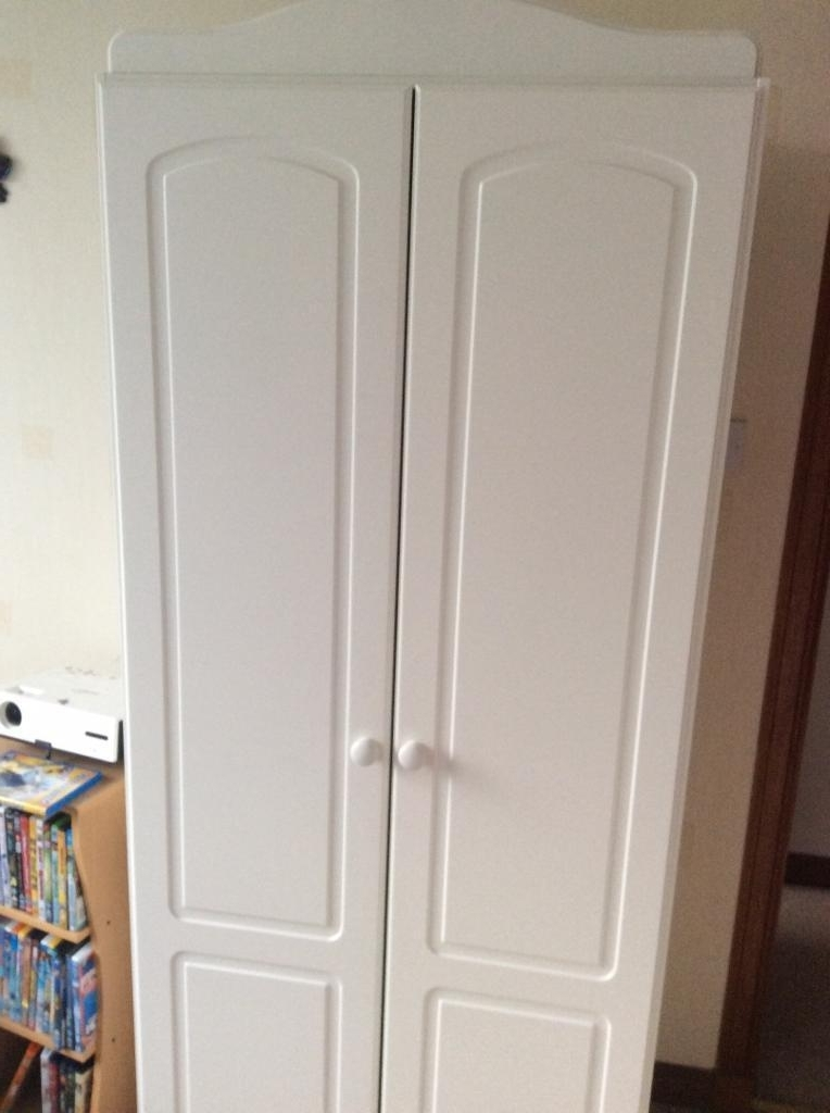 Childrens White Wardrobe Double Rail In Aberdeen Gumtree perfectly with Double Rail Childrens Wardrobes (Image 12 of 30)