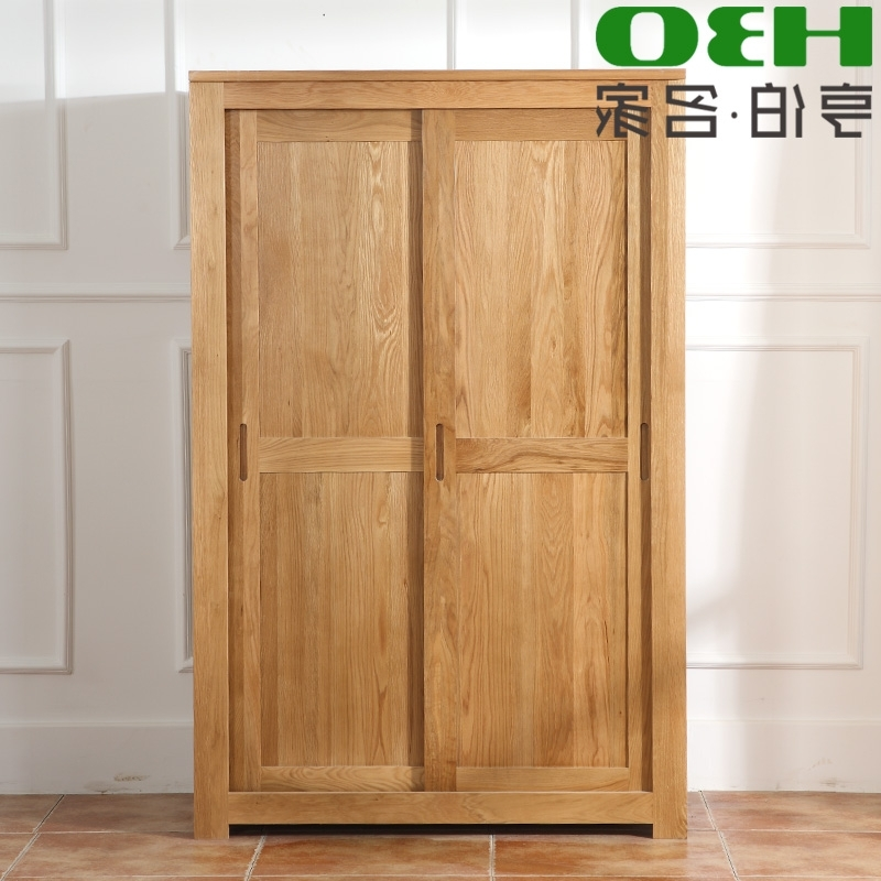 China White Oak Wardrobe China White Oak Wardrobe Shopping Guide properly within Solid Wood Fitted Wardrobe Doors (Image 30 of 30)