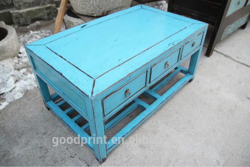 Chinese Antique Blue Coffee Table Furniture Buy Chinese Antique clearly for Blue Coffee Tables (Image 7 of 20)