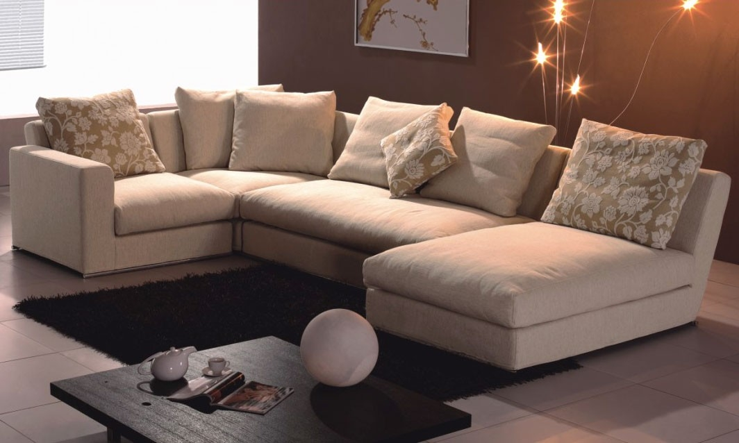 Choosing One Of The Suitable Sectional Sofas For A Modern Living Well For Brick Sofas (View 2 of 20)