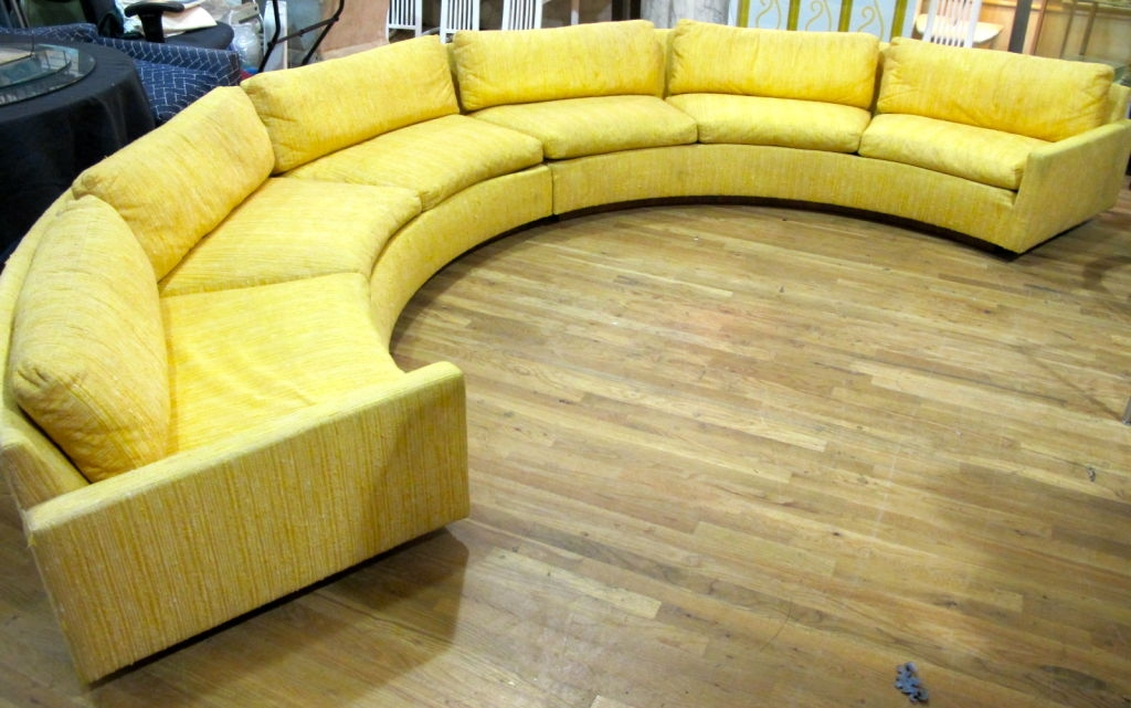 Circle Sectional Sofa Living Room Furniture Home Design Certainly Within Circle Sectional Sofa (View 7 of 20)