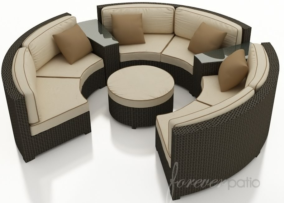 Circle Sectional Sofa Thesofa Certainly Regarding Circle Sectional Sofa (View 8 of 20)