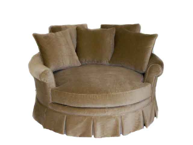 Circle Sofa Chair Arlene Designs well intended for Big Round Sofa Chairs (Image 12 of 20)