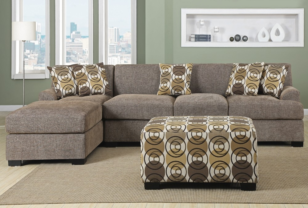 City Fabric L Shape Sofa Nice Idea Too Puffy Home Ideas Properly Inside L Shaped Fabric Sofas (View 20 of 20)