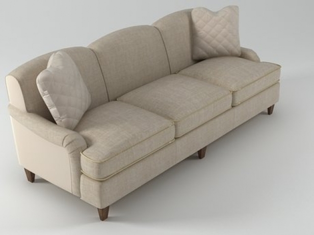 Classic English Sofa 6511 92 3d Model Baker very well within Classic English Sofas (Image 9 of 20)