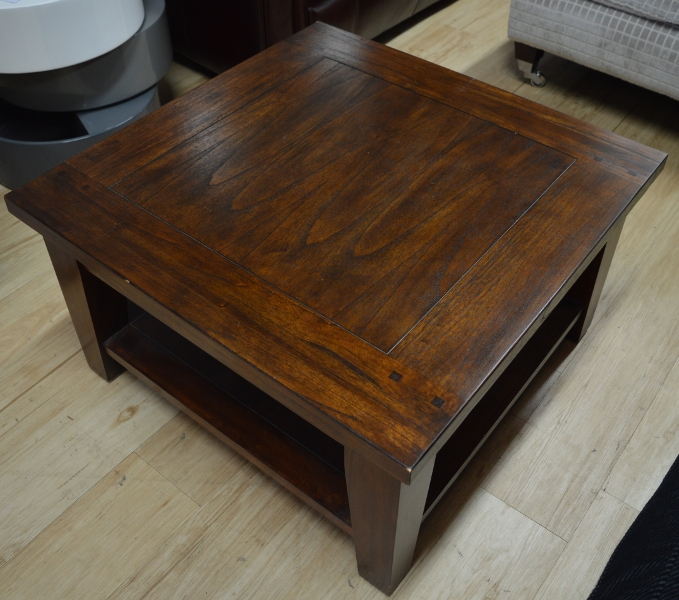 Classic Murano Dark Wood Square Coffee Table Sold Definitely In Square Dark Wood Coffee Table (View 14 of 20)