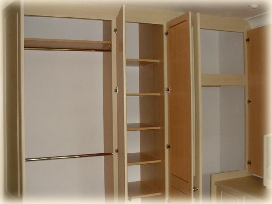 Classique Bedrooms Catalogue Wardrobe Door Designs Decors nicely intended for Double Rail Wardrobes (Image 6 of 20)