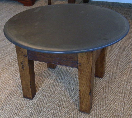 Classy Round Slate Coffee Table On Home Design Ideas With Round effectively pertaining to Round Slate Top Coffee Tables (Image 6 of 20)