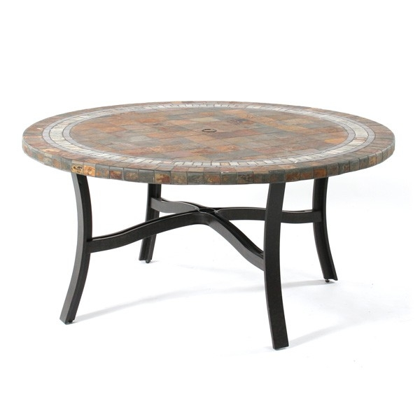 High Quality Round Slate Top Coffee Table Designs