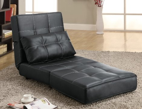 Click Clack Sofa Bed Sofa Chair Bed Modern Leather Sofa Bed Properly With Single Chair Sofa Beds (View 6 of 20)