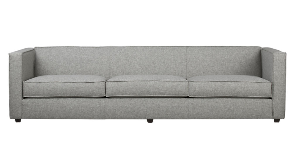 Club 3 Seater Sofa Cb2 well within Three Seater Sofas (Image 5 of 20)