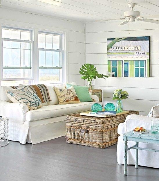 Coastal Wicker Baskets Decorative Storage Ideas For A Beach House definitely with regard to Coffee Table With Wicker Basket Storage (Image 14 of 20)
