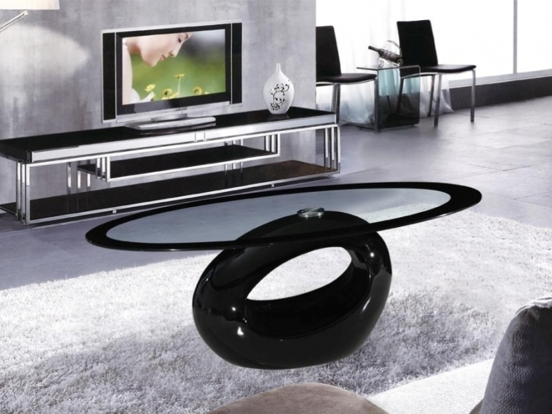 Coffee Table Awesome Black Glass Coffee Table Ideas Black Coffee clearly with regard to Unique Black Glass Coffee Table (Image 4 of 30)