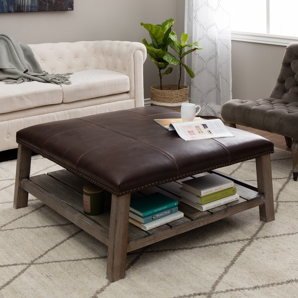 Coffee Table Breathtaking Padded Coffee Table Designs Cocktail Very Well Pertaining To Coffee Table Footrests (View 6 of 20)