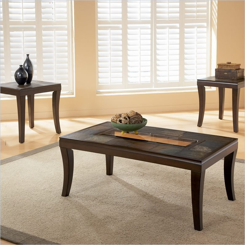 Coffee Table Breathtaking Slate Top Coffee Table Living Room Perfectly With  Regard To Round Slate Top
