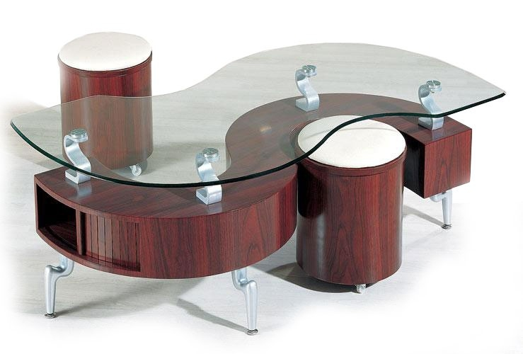Coffee Table Coffee Table With Stools Underneath Coffee Table certainly with Coffee Tables With Nesting Stools (Image 6 of 20)