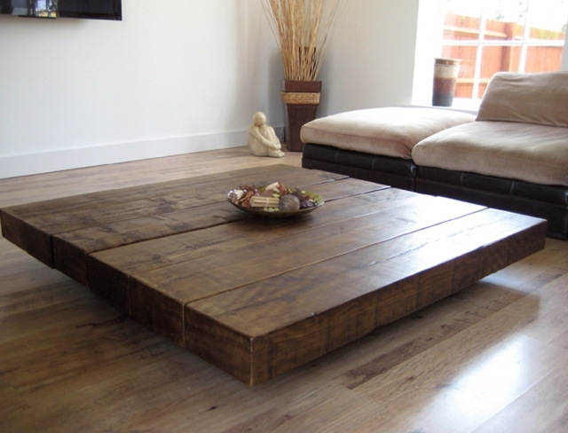 Coffee Table Design Inspiring Traditional Wood Square Coffee Nicely With Regard To Square Dark Wood Coffee Table (View 7 of 20)