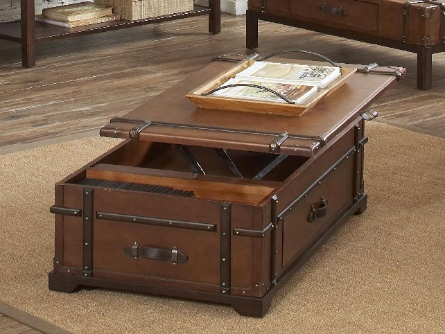 Coffee Table Excellent Storage Trunk Coffee Table Decor Steamer Clearly With Regard To Storage Trunk Coffee Tables (View 8 of 20)