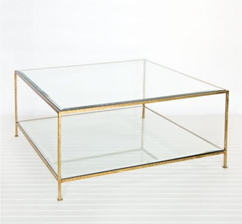 Coffee Table Exciting Metal And Glass Coffee Table In Your Living properly regarding Metal Square Coffee Tables (Image 8 of 20)
