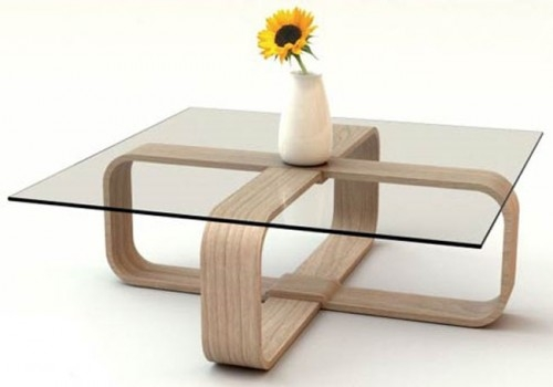 Coffee Table Extraordinary Minimalist Coffee Table Ideas certainly regarding Simple Glass Coffee Tables (Image 5 of 20)