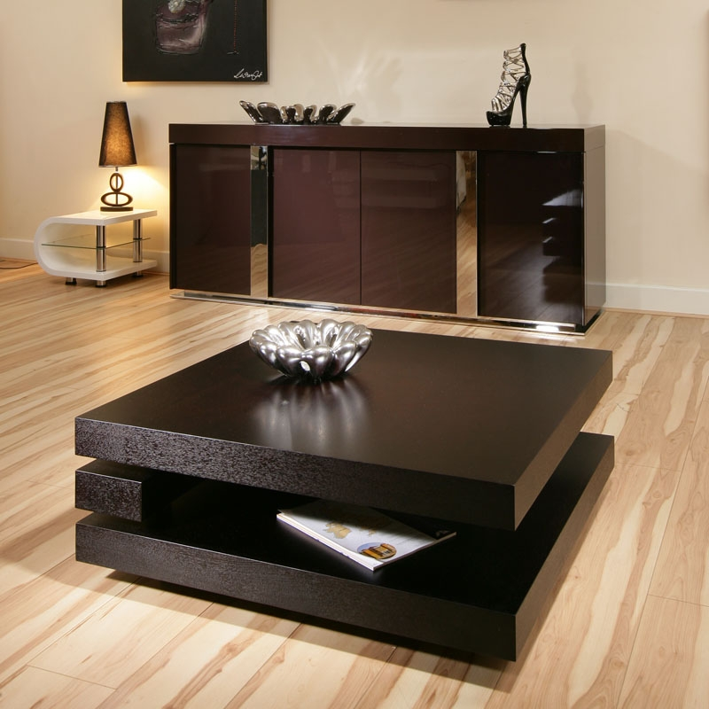 Coffee Table Formidable Large Square Coffee Table Square End effectively pertaining to Square Black Coffee Tables (Image 8 of 20)