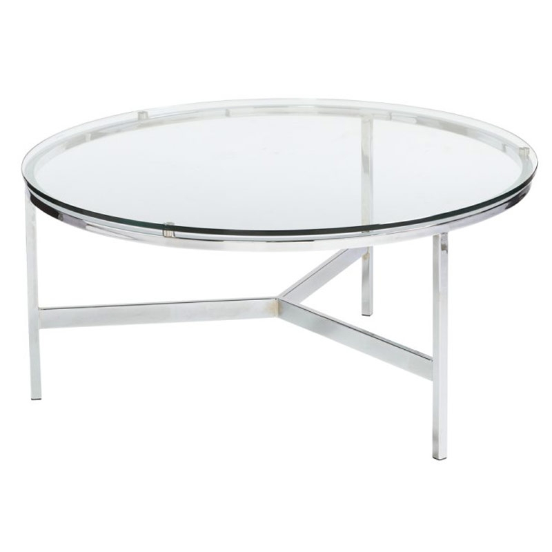 Coffee Table Glass Circle Coffee Table Simple Round Glass Coffee properly pertaining to Simple Glass Coffee Tables (Image 6 of 20)