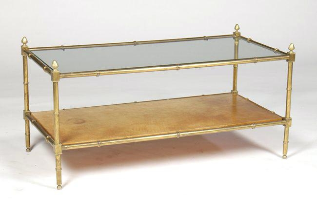 20 Best Collection Of Gold Bamboo Coffee Tables