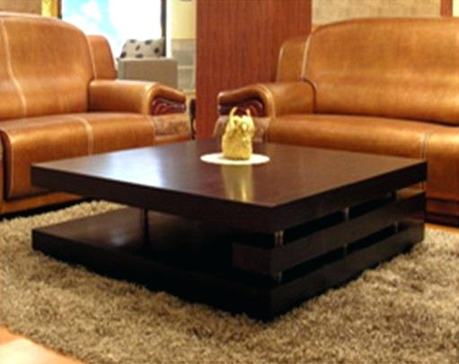 Coffee Table Interior London Square Dark Wood Coffee Table properly for Square Dark Wood Coffee Table (Image 12 of 20)