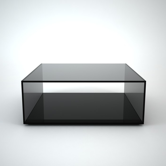 Coffee Table Marvelous Square Black Coffee Table Large Square definitely inside Unique Black Glass Coffee Table (Image 21 of 30)
