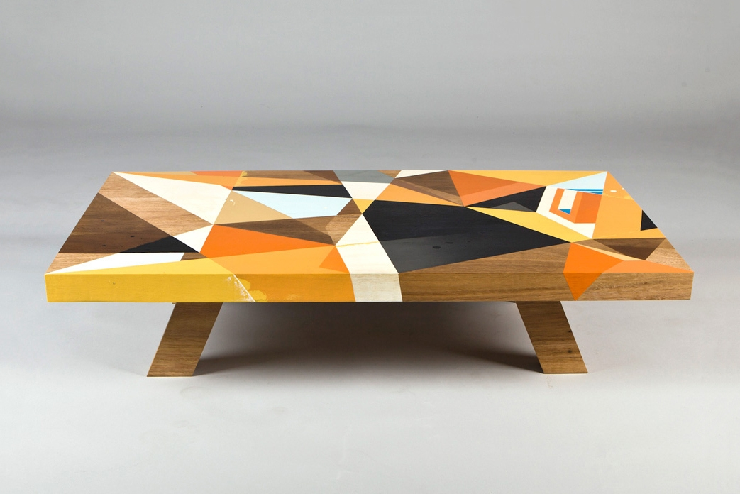 Coffee Table Meets Abstract Art Video Daily K Pop News nicely with regard to Art Coffee Tables (Image 10 of 20)