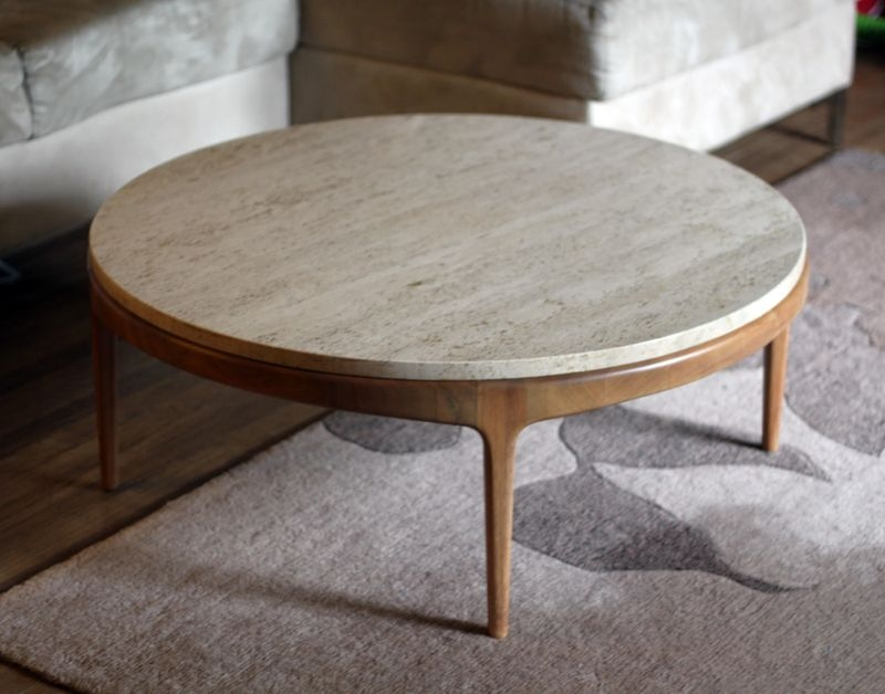 Coffee Table Outstanding Stone Coffee Table In Your Room Stone perfectly for Round Slate Top Coffee Tables (Image 10 of 20)