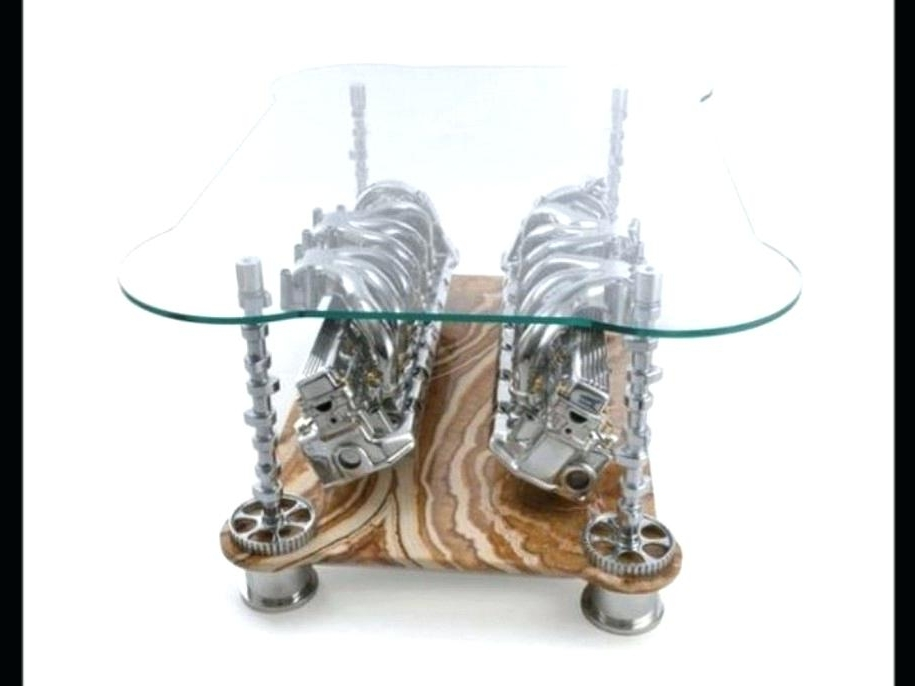 Coffee Table Oval Glass And Metal Coffeesmall Coffee Tables Uk definitely within Unique Twister Glass Coffee Table (Image 21 of 30)