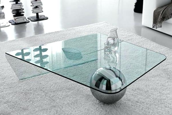 Coffee Table Oval Glass And Metal Coffeesmall Coffee Tables Uk effectively for Unique Twister Glass Coffee Table (Image 3 of 30)
