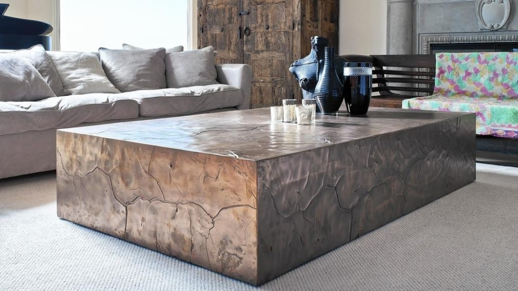 Coffee Table Oversized Coffee Table Extra Large Square Coffee effectively in Oversized Round Coffee Tables (Image 9 of 20)