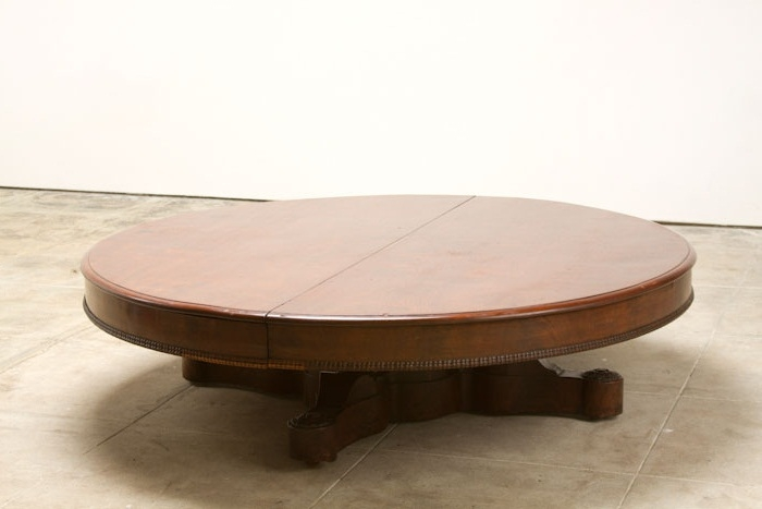 Popular Photo of Oversized Round Coffee Tables
