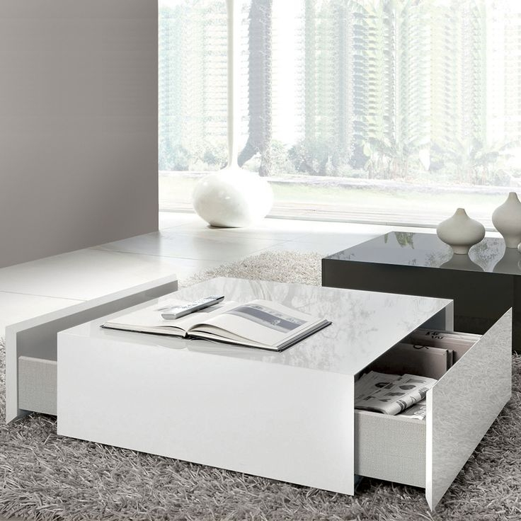 Featured Photo of White Coffee Tables With Storage
